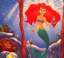 Ariel The Little Mermaid by ashleyschex