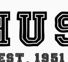 CHUSY circle logo Sticker