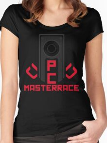 PC MasterRace [AMD] Women's Fitted Scoop T-Shirt