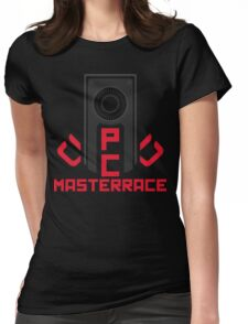 PC MasterRace [AMD] Womens Fitted T-Shirt