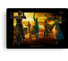 dance of belief Canvas Print