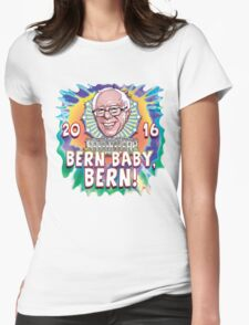 Bern Baby, Bern Sanders 2016 Womens Fitted T-Shirt