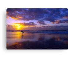 Morning Surfer I Canvas Print