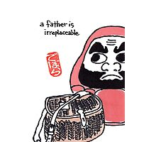 The Angler (Daruma Doll Series) Photographic Print
