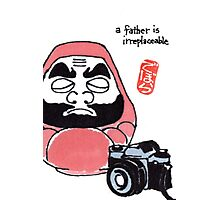 The Photographer (Daruma Doll Series) Photographic Print