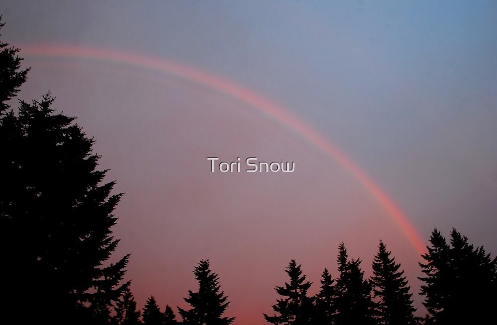 May Evening Rainbow by Tori Snow