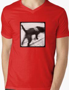Dog TtV Mens V-Neck T-Shirt