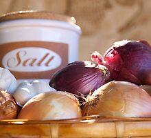 Salt & Onions by KarenEaton