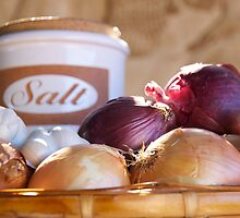 Salt & Onions by Karen Eaton