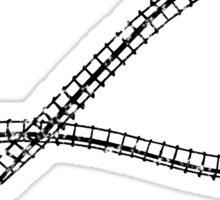 MöbiusTrip (Roller Coaster) Sticker