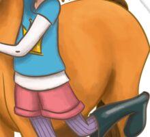 Gallop and Daisy Sticker