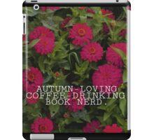 Basic Book Nerd iPad Case/Skin