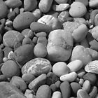 Turkish Pebbles along the Mediterranean Sea by M-EK