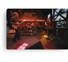 Dave Brewer & Band, Darling Harbour 2009 Canvas Print