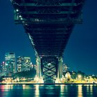 Under the Harbour Bridge by KeithMcInnes
