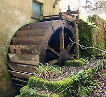 Historical Building The Waterwheel by Sarah Dawson-Spackman