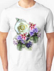 FLORAL TEE (BASIC) TEE SHIRT/BABY/STICKER Unisex T-Shirt