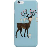 The Happy Springtime Deer! iPhone Case/Skin