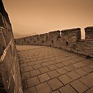 Great Wall of China by Dean Bailey