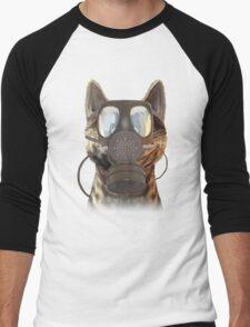 Schrödinger underestimates the cat Men's Baseball ¾ T-Shirt