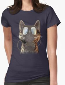 Schrödinger underestimates the cat Womens Fitted T-Shirt