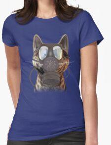 Schrödinger underestimates the cat Womens Fitted T-Shirt