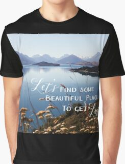 Let's Get Lost Graphic T-Shirt