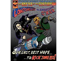 Battle of the 23rd Century! Photographic Print