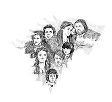 House Stark by Paradoxthis