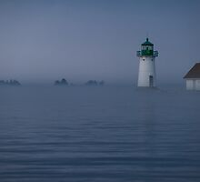 Sunken Rock Lighthouse II by Joseph T. Meirose IV