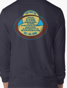 Litany Against Fear Long Sleeve T-Shirt