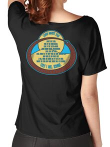 Litany Against Fear Women's Relaxed Fit T-Shirt