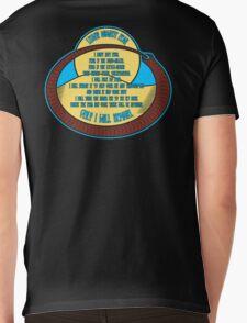 Litany Against Fear Mens V-Neck T-Shirt