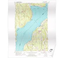 USGS Topo Map Washington State WA Lofall 242030 1953 24000 Poster