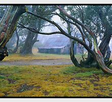 Solitude, Wallace Hut, Falls Creek VIC by Chris Munn