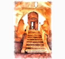 Saint Scolastica monastery: stairs Unisex T-Shirt