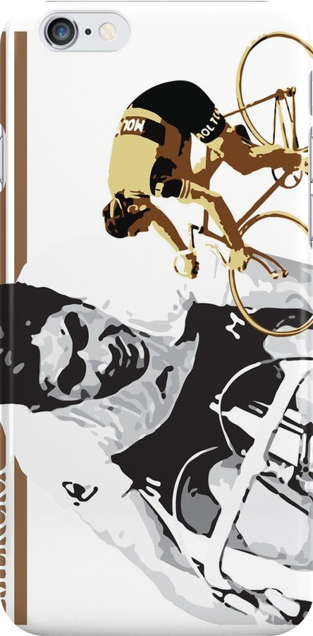 vintage poster EDDY MERCKX: the cannibal by SFDesignstudio