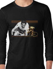 vintage poster EDDY MERCKX: the cannibal Long Sleeve T-Shirt