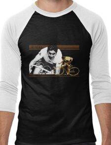 vintage poster EDDY MERCKX: the cannibal Men's Baseball ¾ T-Shirt