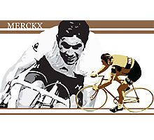 vintage poster EDDY MERCKX: the cannibal Photographic Print