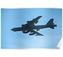 2012 RAAF Pearce Airshow - B52 Bomber Poster