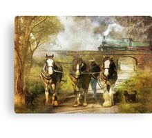 Under Our Own Steam Canvas Print
