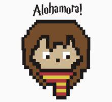 Pixel Hermione Baby Tee