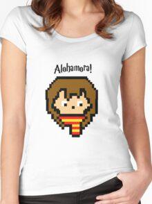 Pixel Hermione Women's Fitted Scoop T-Shirt