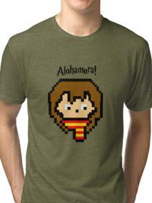 Pixel Hermione Tri-blend T-Shirt