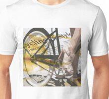 retro BICYCLE URBAN CHIC print Unisex T-Shirt
