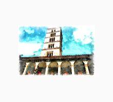 Saint Scolastica monastery: cloister and belfry Unisex T-Shirt