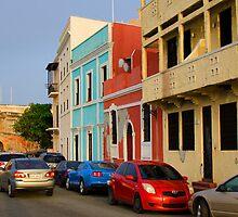 Calle, Old San Juan by jormar1990