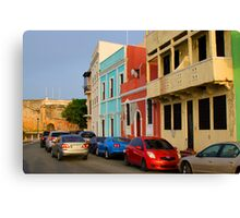 Calle, Old San Juan Canvas Print