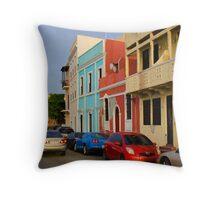 Calle, Old San Juan Throw Pillow